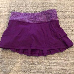 Girls Ivivva tennis skirt
